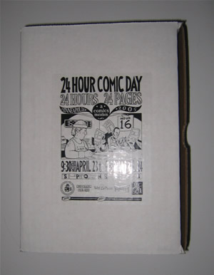24 Hour Comic Day 2005 Box (closed)