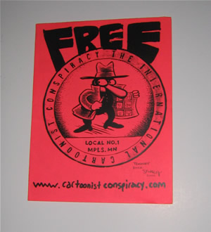 Free The International Cartoonist Conspiracy