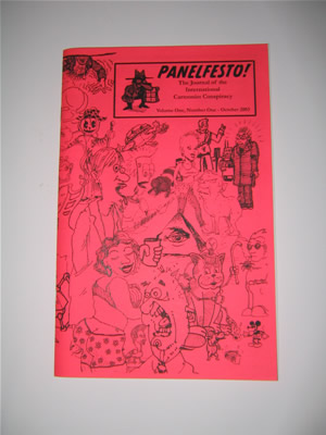Panelfesto V.1 #1: The Journal of The International Cartoonist Conspiracy