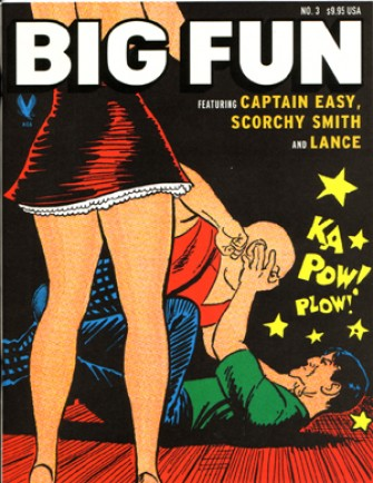 Cover to an issue of American Comic Archives' Big Fun Magazine