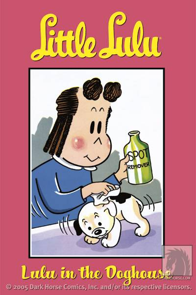 Cover to a volume of Dark Horse's Little Lulu reprint series
