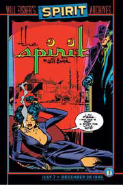 Cover to a volume of the Will Eisner The Spirit reprint series