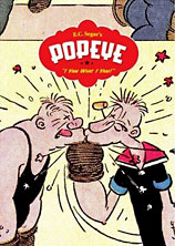 Cover to E.C. Segar's Popeye Volume 1