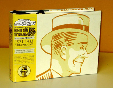 Cover to IDW Publishing's reprint of Chester Gould's Dick Tracy Volume 1