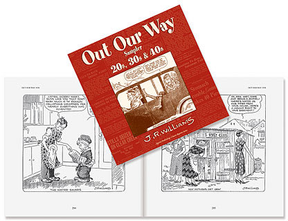 Cover to Lee Valley's reprint of Out Our Way