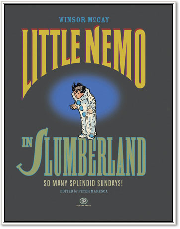 Cover to Sunday Press Books' Little Nemo